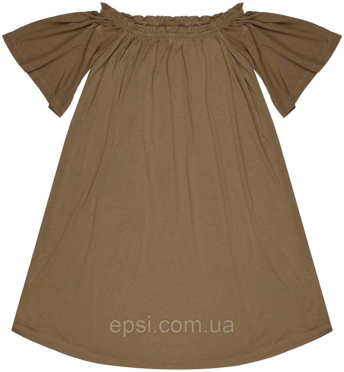 Платье HM S хаки 12-3335577