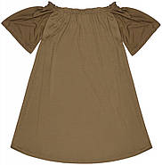 Платье HM S хаки 12-3335577, фото 2