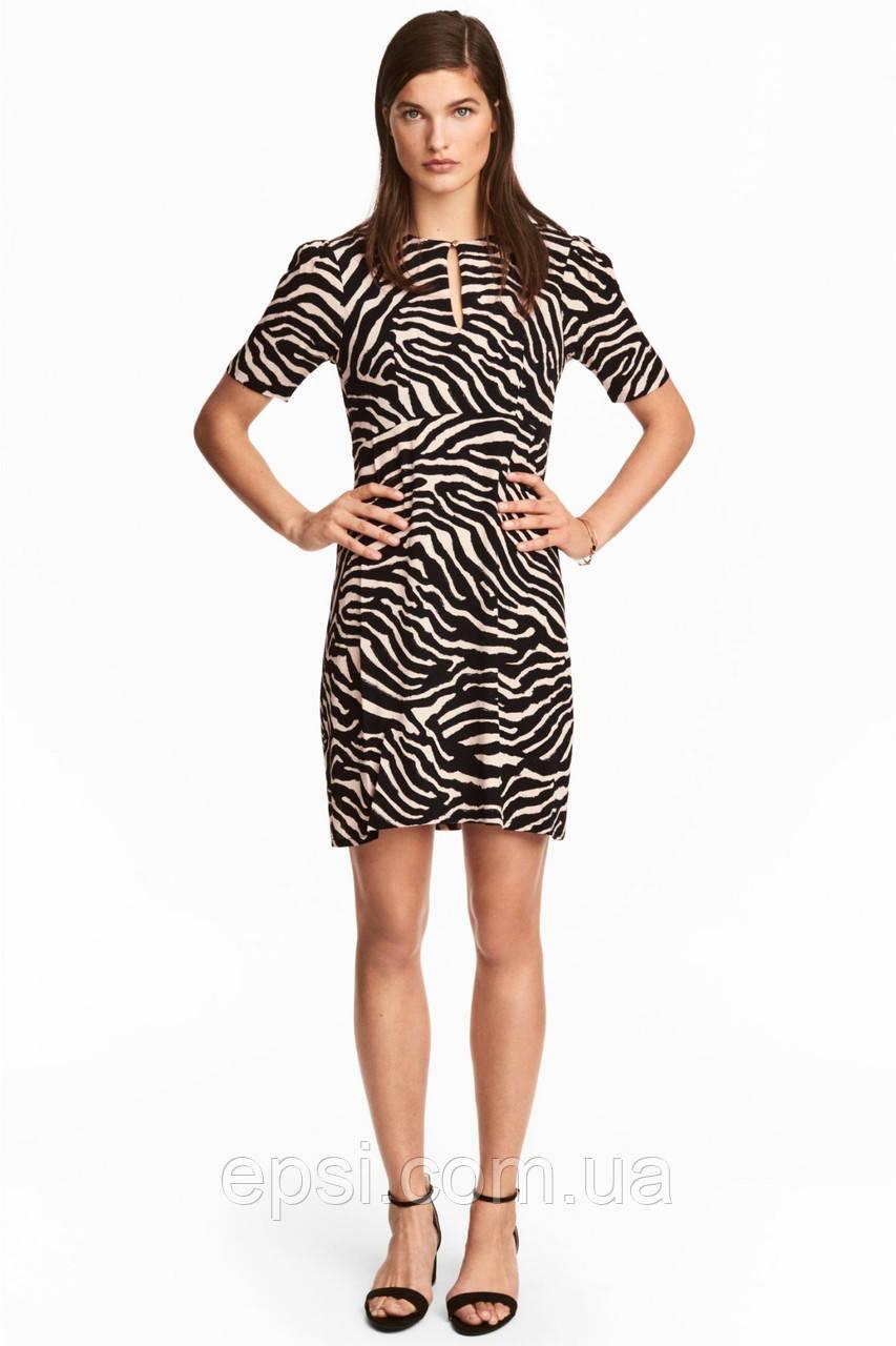 Платье HM 32 черно-бежевый 4979485RP5