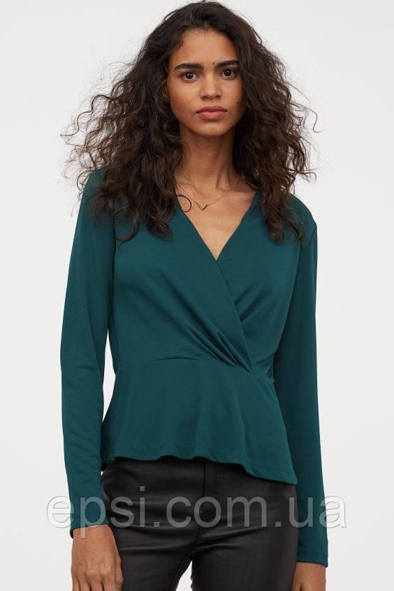 Блуза HM M изумрудно-зеленый 8008070RP4