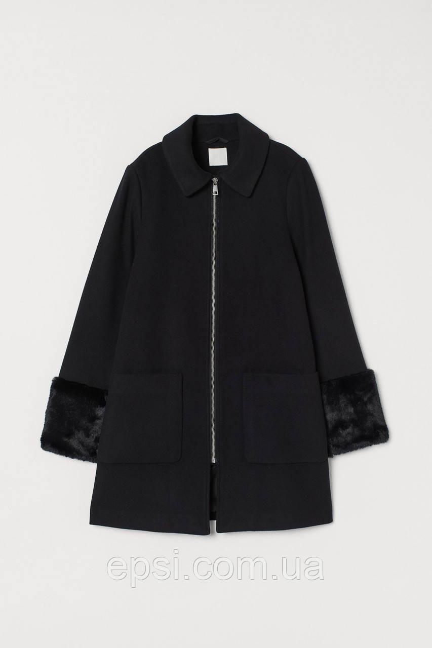 Пальто HM 46 черный 8298120wt