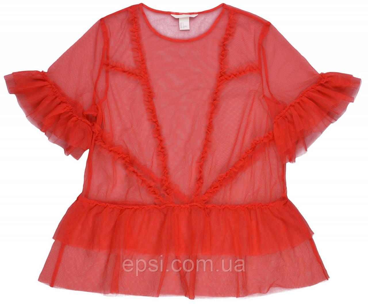 Блуза HM S красный 5552244RP2