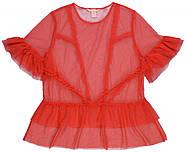 Блуза HM S красный 5552244RP2, фото 3