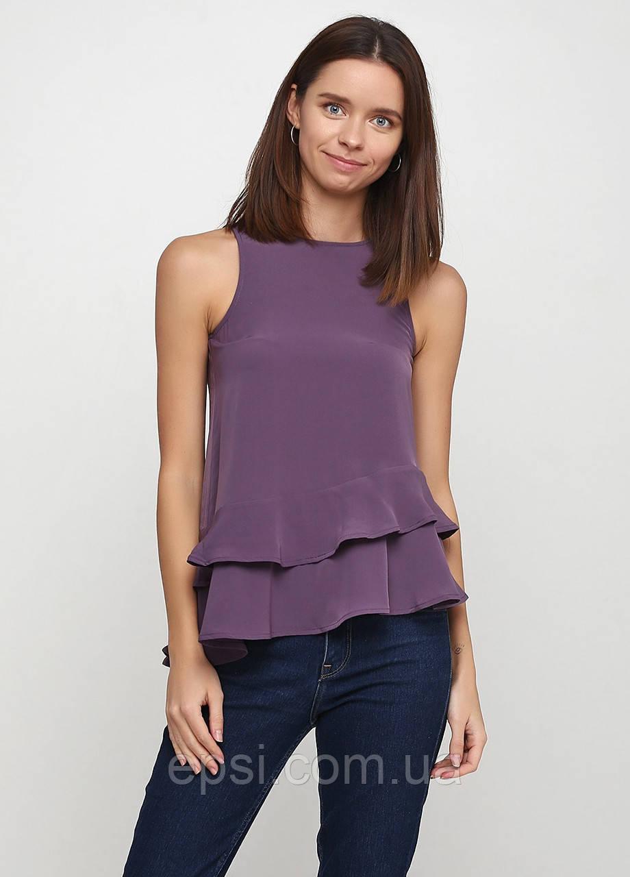 Блуза б/р HM 38 темно- фиолетовый PS4625934RP2