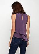Блуза б/р HM 38 темно- фиолетовый PS4625934RP2, фото 2