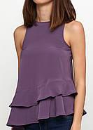 Блуза б/р HM 38 темно- фиолетовый PS4625934RP2, фото 3