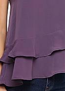 Блуза б/р HM 38 темно- фиолетовый PS4625934RP2, фото 4