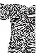 Платье HM 32 черно-белый зебра PS5021685RP4, фото 3
