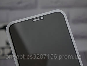 Защитное стекло 3D Strong антишпион iPhone 7/8 Plus Black