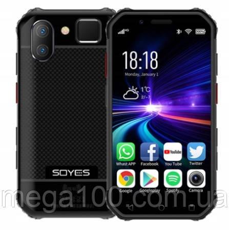 Смартфон Soyes S10 мини (экран 3 дюйма, памяти 3GB/32GB, акб 1900 мАч) NFC цвет черный