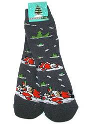 Шкарпетки чоловічі теплі НОВОРІЧНІ Крокус розмір 39-42 сірі