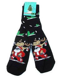 Шкарпетки чоловічі теплі НОВОРІЧНІ Крокус розмір 42-45 чорні