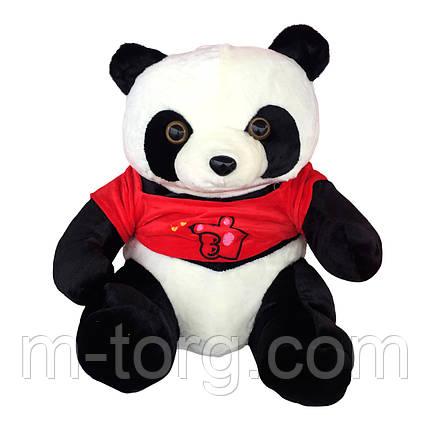 """""""панда"""" игрушка-подушка + плед 120*120 см ткань микрофибра, фото 2"""