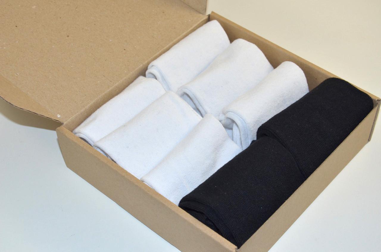 Жіночі шкарпетки укорочені , Набір №133 - 8 пар в комплекті, р. 36-39