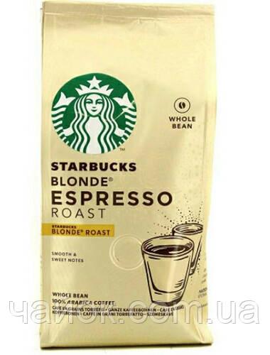Кофе в зернах  Starbucks Blonde Espresso 200 гр