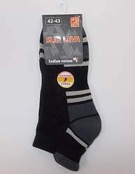 Шкарпетки махрові стопа Slid Leva 42-43 сірі
