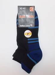 Шкарпетки махрові стопа Slid Leva 42-43 сині