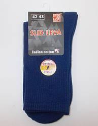 Шкарпетки високі махрова стопа Slid Leva 42-43 сині