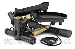 Степпер Hop-Sport HS-035S Joy золотистый