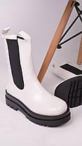 Женские ботинки белые, фото 3