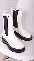 Женские ботинки белые, фото 2