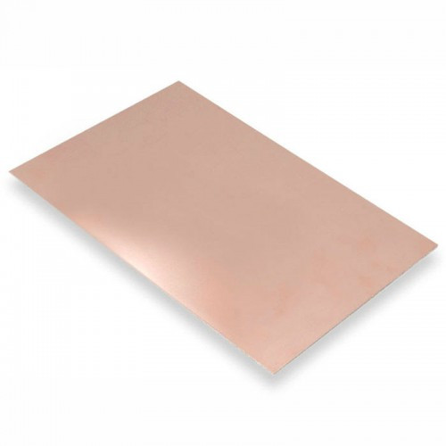 Стеклотекстолит FR4 4 дм2 0,5 мм фольгированный односторонний