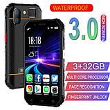 Смартфон Soyes S10 мини (экран 3 дюйма, памяти 3GB/32GB, акб 1900 мАч) NFC цвет оранжевый, фото 2