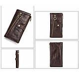 Мужские портмоне из кожи брендовые, фото 3