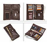 Мужские портмоне из кожи брендовые, фото 4