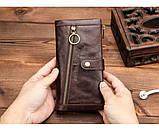 Мужские портмоне из кожи брендовые, фото 6