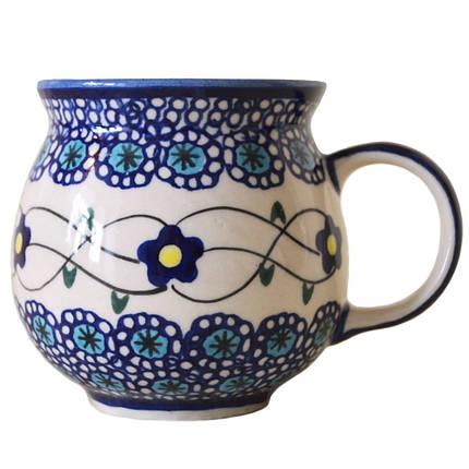 Чашка керамическая «Т» 0,25L Барвинок, фото 2