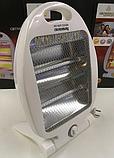 Кварцевый обогреватель Heater CB 7745 Crownberg Quartz 800Вт, фото 2