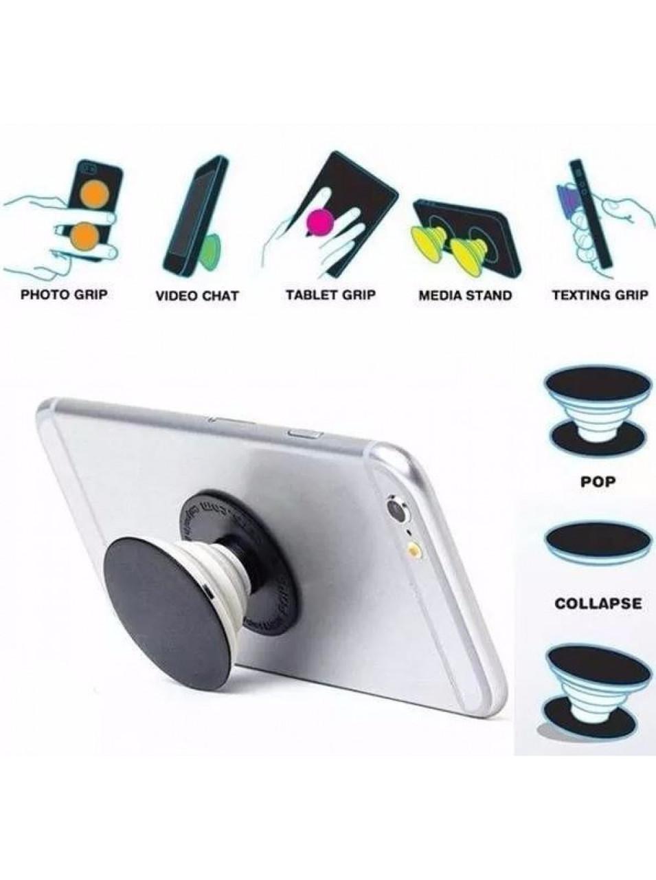 УНИВЕРСАЛЬНЫЙ держатель-подставка для телефона POP-UP