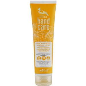 Bielita - Ultra Hand Care Маска-баттер для рук и ногтей несмываемая ультра питание, лифтинг 100ml