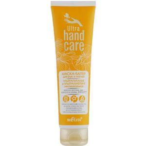 Bielita - Ultra Hand Care Маска-баттер для рук и ногтей несмываемая ультра питание, лифтинг 100ml, фото 2