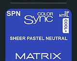 SPN (пастельный натуральный) Тонирующая крем-краска для волос без аммиака Matrix Color Sync,90 ml, фото 6