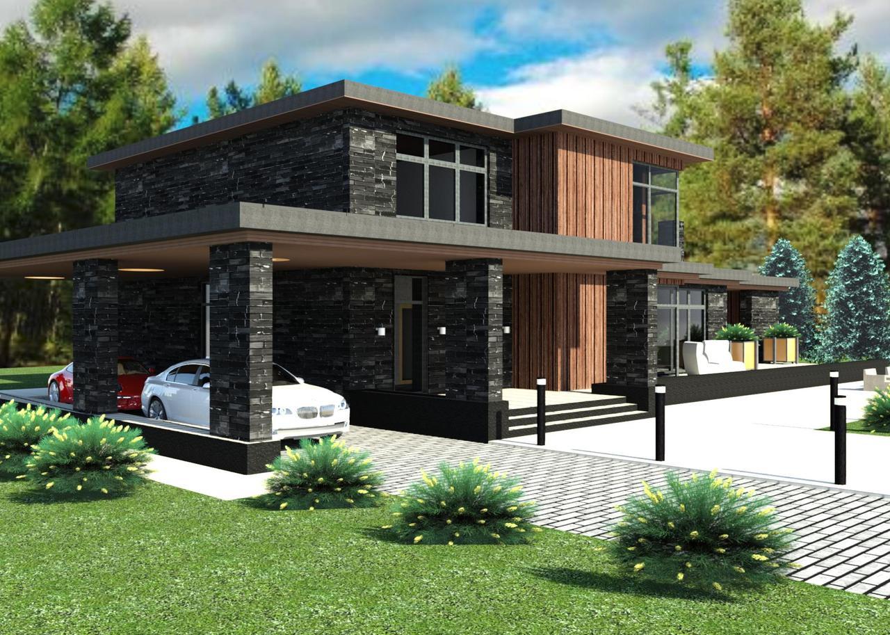 Готовый проект жилого дома К32