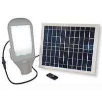 LED светильник уличный с солнечной панелью VELMAX V-SL-Solar 20Вт 6500К (+кронштейн)