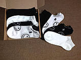 Набор носков с рисунком 6 пар в коробочке 36-39р., фото 3