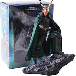 Коллекционная фигурка Loki Локи Thor Ragnarok Тор Рагнарёк Марвел Marvel  25см M L 10.64