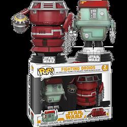 Набор Фигурок Funko Pop Star Wars Звездные Войны Fighting Droids Боевые Дроны 10 см SW P FD 2