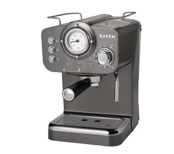 Рожковая кофеварка эспрессо Raven EER001G