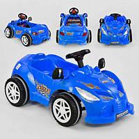Детский веломобиль Pilsan Herby 07-312 от 3 лет машина педальная клаксон Синий