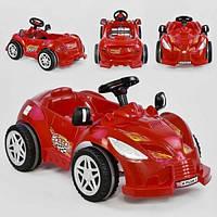 Детский веломобиль Pilsan Herby 07-312 от 3 лет педальная машина клаксон Красный