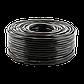 Кабель для видеонаблюдения RG58+2C 100М, фото 2