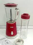 Блендер с шейкером DSP KJ-2053 - кухонный измельчитель, фото 2