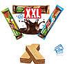 Вафли в шоколаде Fiesta XXL Kakaowa шоколадные 50 г Польша, фото 3