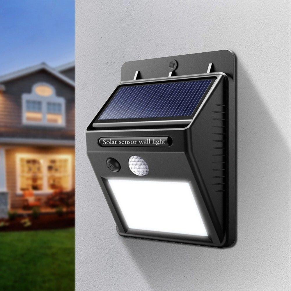 Настенный уличный светильник Solar motion sensor Light Технологии будущего - это солнечная энергия!