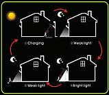 Настенный уличный светильник Solar motion sensor Light Технологии будущего - это солнечная энергия!, фото 6