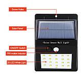 Настенный уличный светильник Solar motion sensor Light Технологии будущего - это солнечная энергия!, фото 5